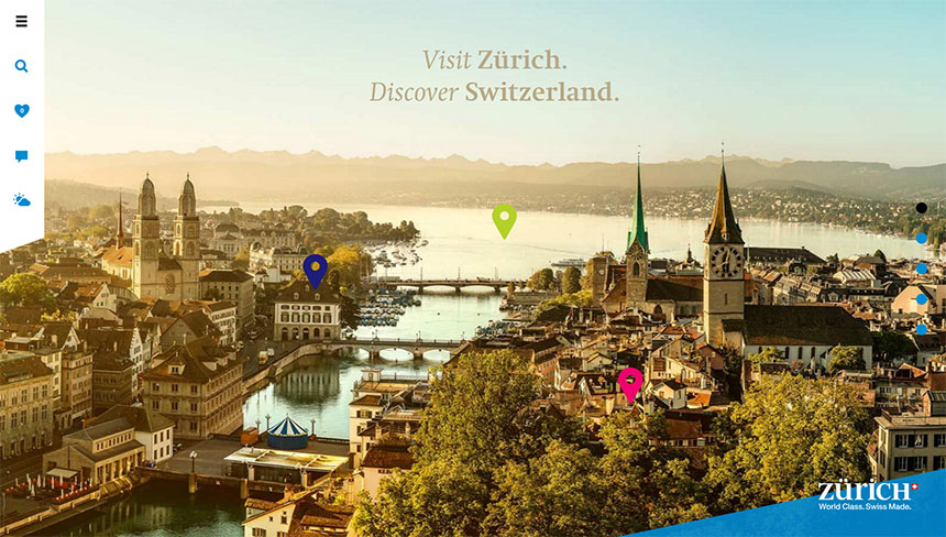 Zürich City Guide Website