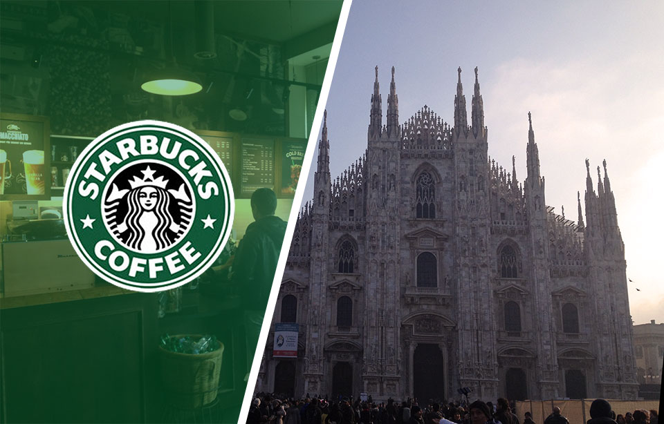 Starbucks in Italy